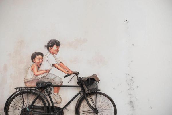 Enfants à vélo Actions | Collectif Eco-Solidaire Corée Taïwan