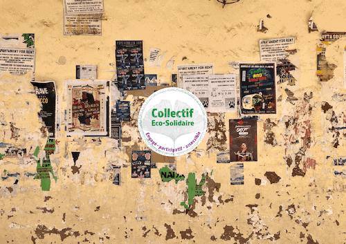 Mur avec affiches | Collectif citoyen | Collectif Eco-Solidaire Corée Taïwan