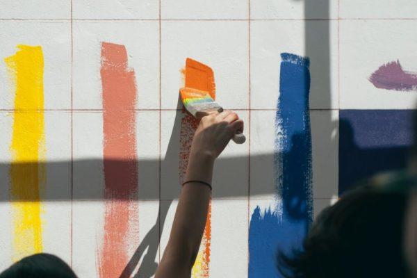 Peinture multicolore | Blog | Collectif Eco-Solidaire Corée Taïwan