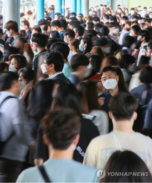 Personnes portant des masques   COVID-19 Corée du sud   Collectif Eco-solidaire