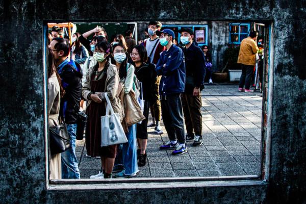 Personnes portant des masques | Covid-19 Taïwan | Collectif Eco-Solidaire Corée Taïwan