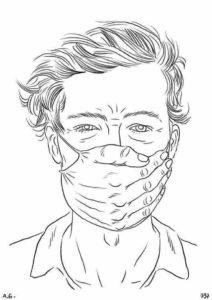 Masque du gouvernement