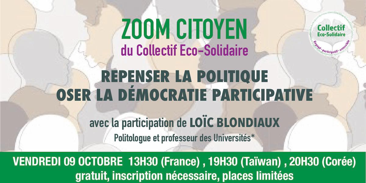 Zoom Citoyen - Repenser la démocratie participative