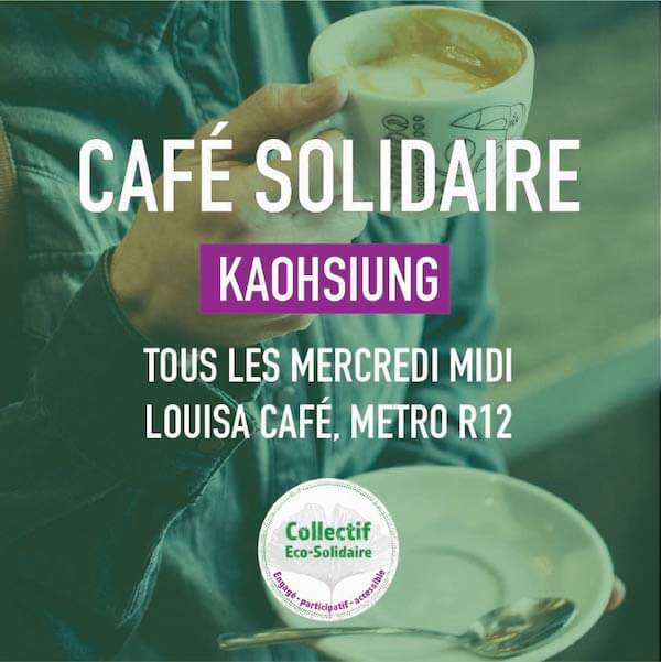 Café solidaire Kaohsiung | Collectif Eco-Solidaire