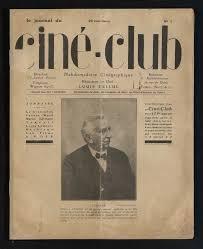 Couverture du premier numéro du Journal du Ciné-Club | Ciné-club du Collectif