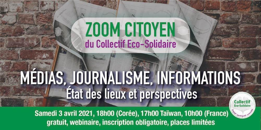 Zoom Citoyen - MÉDIAS, JOURNALISME, INFORMATIONS