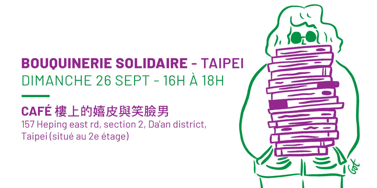 Taipei - Bouquinerie Solidaire