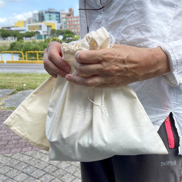 sacs en coton réutilisables   Collectif Eco-Solidaire Corée Taïwan